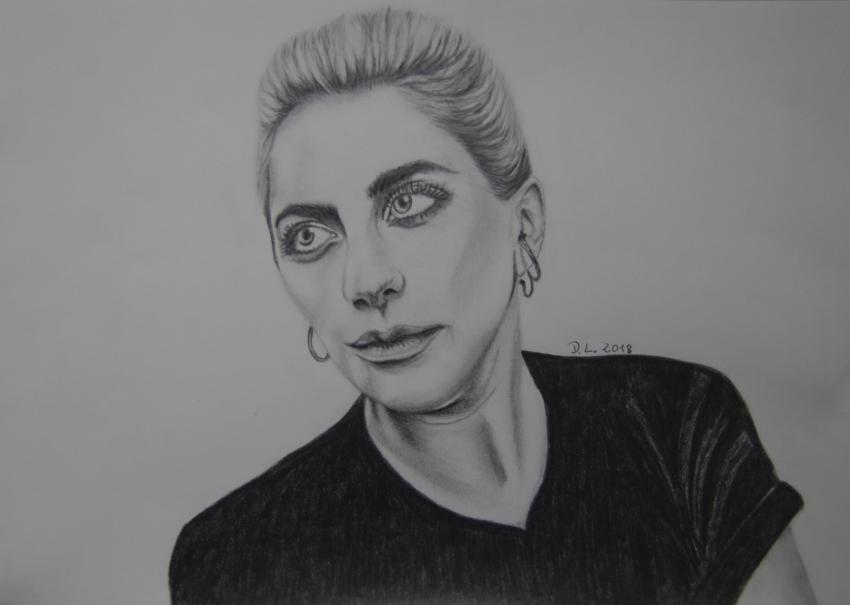 Lady Gaga par HamburgGirl